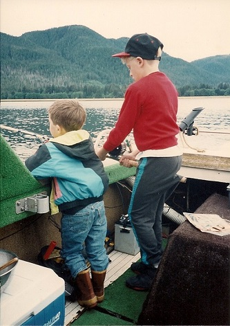 kids fishing in alaska