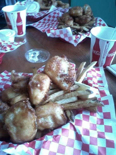 juneau alaska sandbar fish and chips