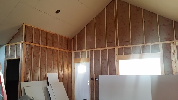 insulated interior walls