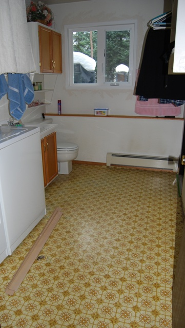 laundry room before image