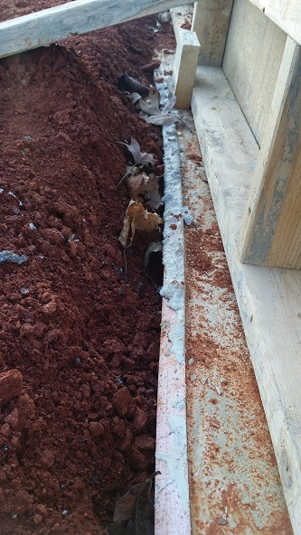bad footings for foundation