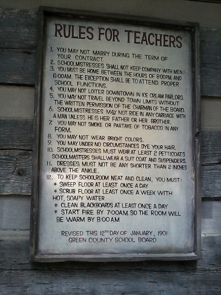 rules for teachers